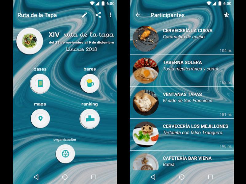 Ruta de la Tapa de Linares Android