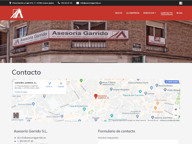Asesoría Garrido Contacto