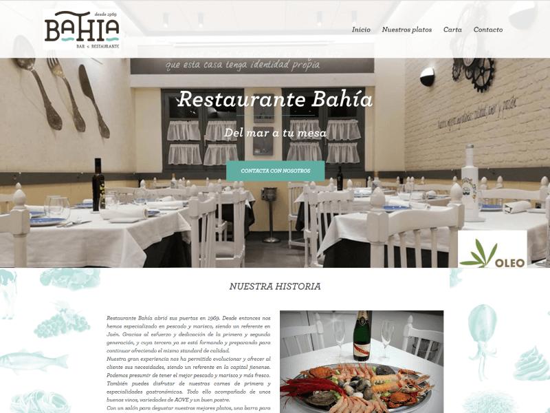 Restaurante Bahia Jaen inicio