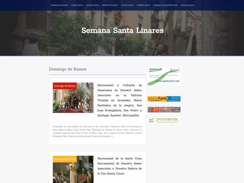 Semana Santa Linares Web