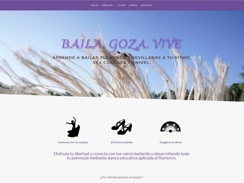 Web Ainhoa Linaza Flamenco